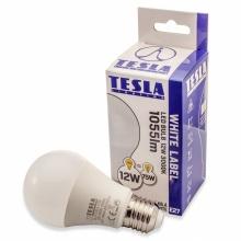 BL271230-2 Tesla - LED žárovka BULB, E27, 12W, 230V, 1055lm, 15 000h, 3000K teplá bílá, 240°