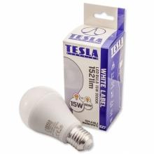 BL271530-2 Tesla - LED žárovka BULB E27, 15W, 230V, 1521lm, 20 000h, 3000K teplá bílá, 240°