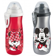 NUK First Choice Sports Cup Mickey Mouse 450 ml červená