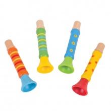 Bigjigs Toys trumpetka 1ks zelená