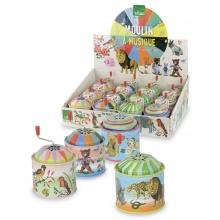 Vilac Muzikální hrací skříňka Nathalie 1ks Safari