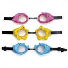 INTEX Plavecké brýle FUN 55603 žlutá