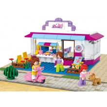 Sluban Girls Dream Town M38-B0528 Drink bar