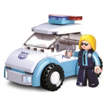 Sluban Girls Dream Holidays M38-B0600B Policistka s vozem