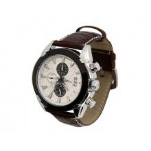 Hodinky CATTARA CHRONO WHITE Compass
