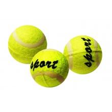 míček tenisový v sáčku, 3 ks (od 3 let)