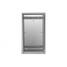 290S/0, instalační krabička se stříškou, Série Solvo, nerez ocel, povrchová montáž, ACI Farfisa