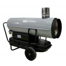 Horkovzdušná naftová turbína  GD 50 IK