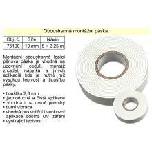 Oboustranná montážní páska 19 mm / 7 m