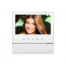 CDV-70H2 bílý, barevný handsfree videotelefon, 7'' LCD, 2 video vstupy, dotyková tlačítka, Commax
