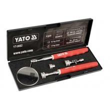 Inspekční sada čtyř dílná zrcátko a magnetické vyprošťovače Yato