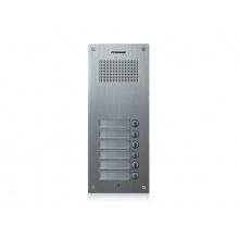 DR-6UM, Commax dveřní audiostanice pro systém 4+n se 6 tlačítky