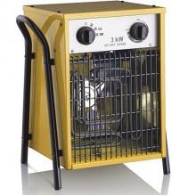Elektrické topidlo ohřívač 5,0kW/400V s horkovzdušným ventilátorem 470m3/h