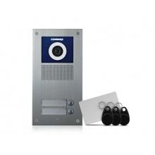 DRC-2UC/RFID, Commax barevná dveřní kamerová jednotka se 2 tlačítky a integrovanou čtečkou
