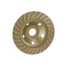 Kotouč diamantový brusný turbo 125mm se středovým otvorem 22,2mm pro úhlovou brusku