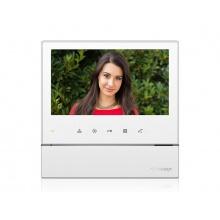 CDV-70H bílý, barevný handsfree videotelefon, 7'' LCD, 1 video vstup, dotyková tlačítka, Commax