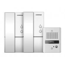 DP-LA01M+S / DR-2GN, sada 2x domácí telefon DP-LA01M + DP-LA01S + dveřní audiostanice DR-2GN, Commax