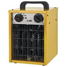 Elektrické topidlo ohřívač 2,0kW/230V s horkovzdušným ventilátorem 200m3/h