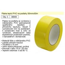 Páska lepící PVC na podlahy 50mmx50m