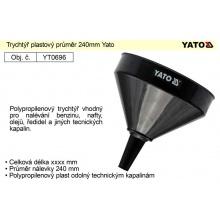 Trychtýř plastový průměr 240mm Yato