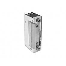 51.1.00.B, elektrický dveřní zámek s mechanickou blokací, mini provedení, napětí 9-16 V AC/DC, O&C