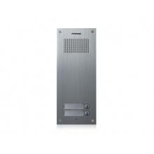 DR-2UM, Commax dveřní audiostanice pro systém 4+n se 2 tlačítky