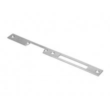 26 Inox, dlouhý oboustranný přídavný štít pro elektrické zámky řady 5x.1.00.x, tloušťka 3 mm, O&C