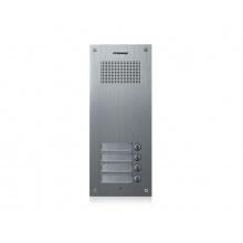 DR-4UM, Commax dveřní audiostanice pro systém 4+n se 4 tlačítky