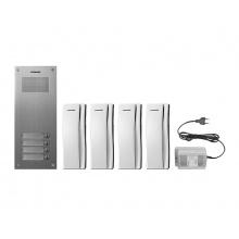 DR-4UM/DP-SS/RF-1A, sada domácích telefonů pro 4 uživatele, systém 4+n, vč. zdroje, Commax