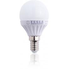 MG140330-1 Tesla - LED žárovka mini BULB, E14, 3W, 230V, 250lm, 25 000h, 3000K teplá bílá, 180°
