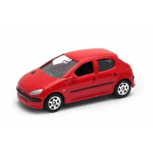 Welly - Peugeot 206 model 1:60
