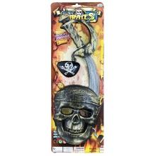 sada pirátská s maskou (od 3 let)