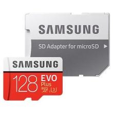 Karta paměťová SAMSUNG Micro SDHC 128GB Class 10 + adaptér MB-MC128GA/EU