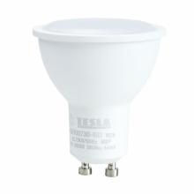 GU100730-6D Tesla - LED žárovka GU10, 7W, 230V, 560lm, 25 000h, 3000K teplá bílá, 100° stmívatelná