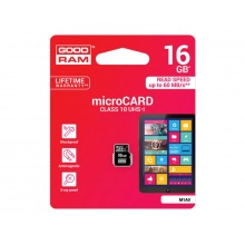 Karta paměťová GOODRAM microSD 16 GB UHS-I bez adaptéru