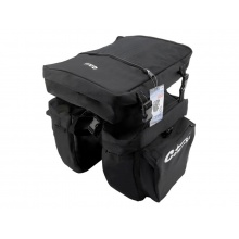 Cyklotaška na zadní nosič 3in1