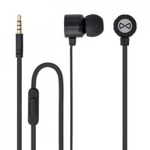 Sluchátka do uší FOREVER MSE-200 BLACK s mikrofonem