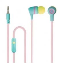 Sluchátka do uší FOREVER JSE-200 PASTEL s mikrofonem