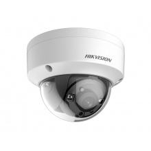 DS-2CE57U8T-VPIT/28 - 4K Ultra-Low Light DOME kamera TurboHD; WDR+EXIR; IP67; obj. 2,8mm