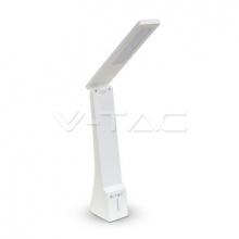 VT-1014-7098 V-TAC stolní lampa 4W 550lm bílostříbrná