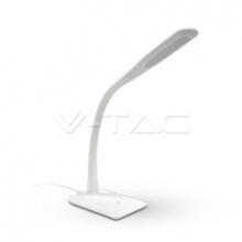 VT-1017-7053 V-TAC stolní lampa 7W, 420lm bílá