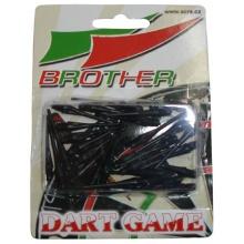 BROTHER Plastové hroty k šipkám - 30 ks v blistru