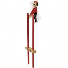 Vilac Dřevěný akrobat Salto 1ks červená