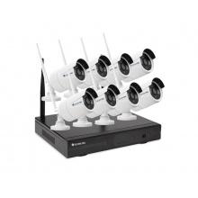 Kamera set SECURIA PRO WIFI8CHV1-W 1080P 8CH DVR + 8x IR CAM 1.3MPx