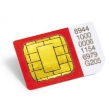 ED003003 Level - aktivační SIM karta Positrex pro ON-LINE provoz EVROPA