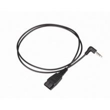 MRD-QD007 Well Mairdi - redukce pro telefony s 3,5 mm (4-pólový) jack konektorem (i pro mobilní telefony)