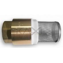 Zpětný ventil - sací koš mosazný 1