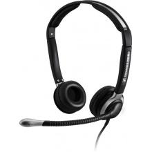 CC 520 Sennheiser - náhlavní souprava pro telefon, na obě uši, spona přes hlavu