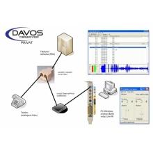 DO-PRIVAT-2L-A Davos nahrávání hovorů, 2 analogové linky - aktivní, sada pro instalaci