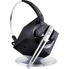 DW OFFICE Sennheiser - bezdrátová DECT náhlavní souprava pro stolní telefony a PC, na jedno ucho (DW10)